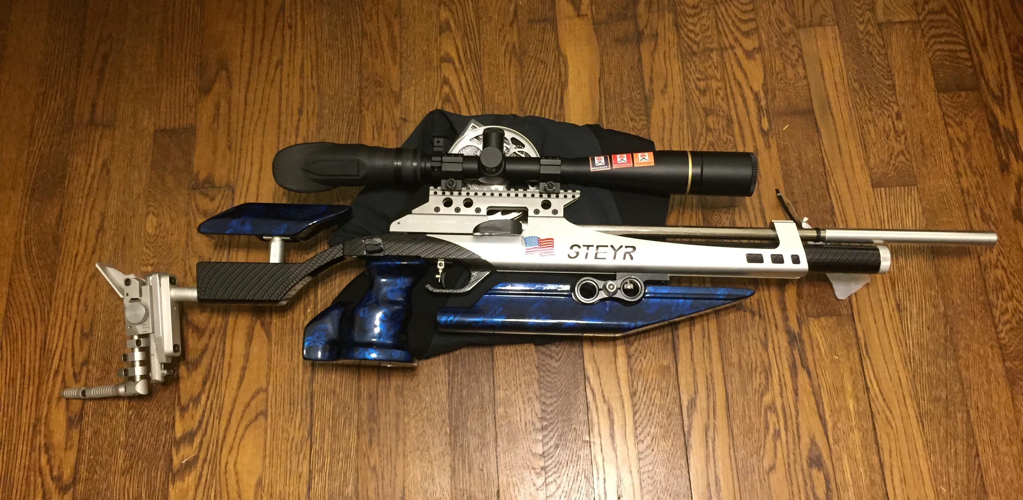 Custom Steyr Airgun Stock Set   U S  Field Target